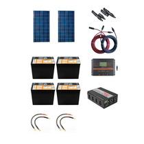 Planta De Energia Solar 300w Para Lugares Sin Cfe