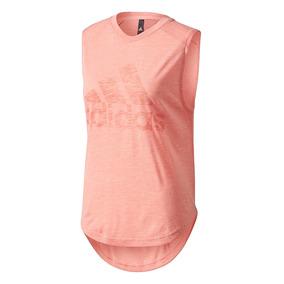 Musculosa Camiseta Remera adidas Running Fitness De Dama