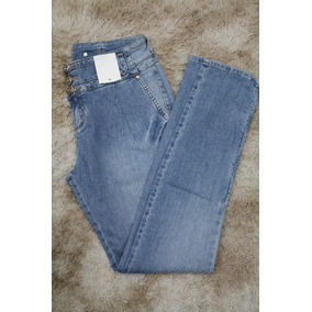 Calça Jeans Lado Avesso Tam 36 3 Botoes