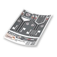 Decais Para Miniatura Pm Sp Rota - Blazer 1/43 - V02