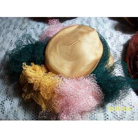 Lote Antiguos Sombreros,canotier,tocado,vintage,decoracion