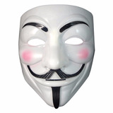 Máscara Anonymous V De Vingança Vendetta Guy Fawkes