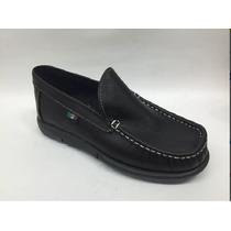 Zapato Negro Casual Colegial Niños Talla 21 Y 22