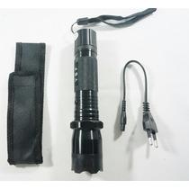Lanterna Tatica De Choque Potencia 18000w Recarregavel
