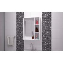 Gabinete Para Baño Con Espejo Y Tres Repisas Para Pared