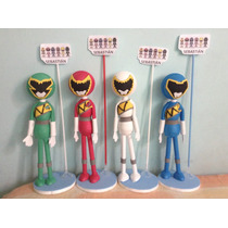 Power Rangers Centros De Mesa Fofuchas Power Rangers