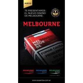 Nuevos Cigarrillos Melbour X Mayor $17,4 Atado Común/suave.