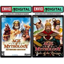 Age Of Mythology E.e. + Tale Of The Dragon - Envio Digital