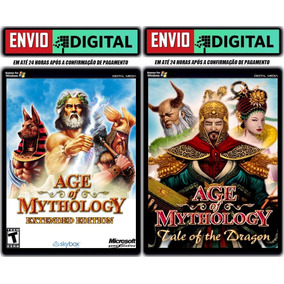 Age Of Mythology E.e. + Tale Of The Dragon - Envio Digital