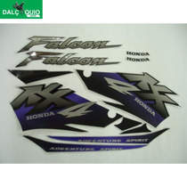 Faixa Adesiva Nx 4 Nx400 Falcon 2001 Prata Cinza