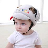 Casco Protector De Golpes Y Caidas Para Bebes Niños Ajusta