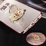 Funda Ultra Slim Metalizada Hello Kitty Samsung A5 A3 Note 5