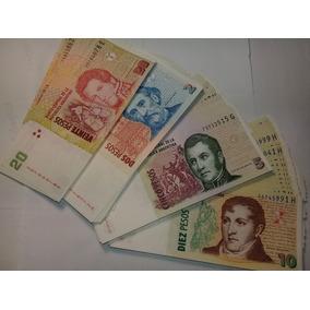 Billetes Argentinos Venta Por Lote Completo