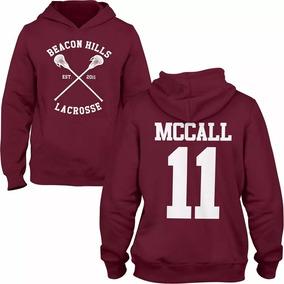Moletom Teen Wolf Mc Call 11 Lacrosse Casaco Unissex