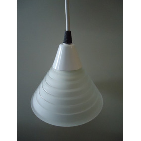 Luminária Pendente Vidro Fosco Sublime Ref 9161 79