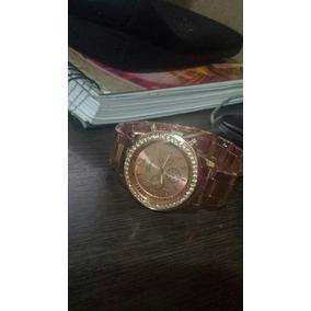 Relógio Cor Bronze Geneva Feminino
