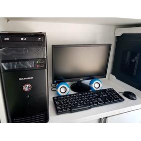 Computador Pc Completo +monitor+teclado+mouse+caixa De Som