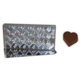 Forma Para Chocolate Para Uso Com Transfer Coracao