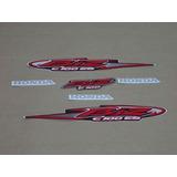 Kit Adesivos Honda Biz 100 Es 2005 Preta