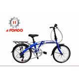 Bicicleta Plegable X-terra Fx20 - Rod 20 - Shimano