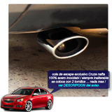 Chevrolet Cruze Cola Escape Acero Inox.cromo Tuningchrome