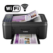 Multifuncional Canon Color Pixma E481 - Wifi, Scanner, Xerox
