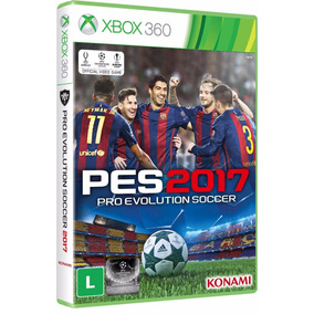 Pes 2017 Xbox 360 Pro Evolution Soccer Português Original