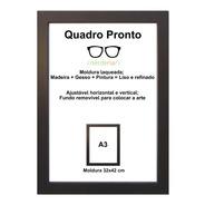 Moldura A3 Certificado/diploma
