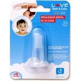 Masajeador Dental Y Encias Love 8826 Higiene Bebe Tiendalove