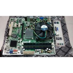 Kit Placa Mae Hp Ms-7525 1.0 Ddr-2 De 2g + Core 2 Duo 6400
