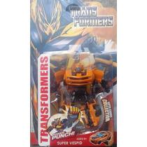 Transformers Muñecos Bumblebee Optimus Prime 20 Cms