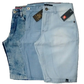 Kit 6 Bermuda Jeans Masculino Varias Marcas + Frete Grátis