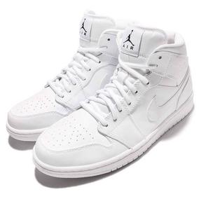 Zapatillas Nike Air Jordan 1 Mid Nuevas Basquet 554724-110