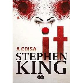Livro It A Coisa Stephen King Suspense Terro