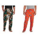 Tallas Grandes Marca Mp Pantalón De Pijama Polar 5xl