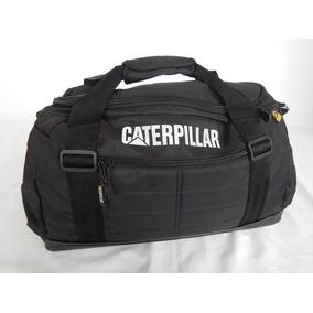 Bolso Caterpillar - Deportivo O Viaje Gran Cap - Negro