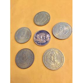 Lote De 6 Medallas De Presidentes De Usa Flete Gratis