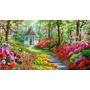 Alley Of Flowers - Cuadros, Pinturas De Dmitry Spiros