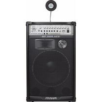 Caixa De Som Amplificada Mp5000 App Bt Usb Fm-500 Wrms Frahm