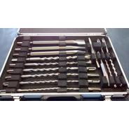 Set De Mechas Y Cinceles Sds Plus Makita Maletin Aluminio17p