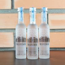 Miniatura Vodka Belvedere 50ml Mini Garrafa Original