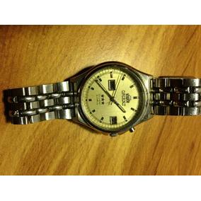 Reloj Orient Cristal Automático 21 Jewels Doble Fechador