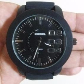 Relógio Grande Marca Masculino Estilo Diesel Caixa