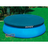 Cobertor Piletas Intex 3,66 M Redondo Cubre Pileta Original!