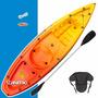 Kayak Atlantikayak Simplo + Remo + Asiento C/ Respaldo Y Más