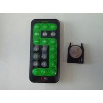 Controle Remoto Car Mp3 E Caixinhas De Som Pequenas Novo