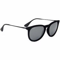 Óculos De Sol Ray Ban Erika De Veludo, Polarizados E Espelha