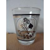 Vaso Shot Tequilero Las Vegas Souvenir Poker & Dice Dados