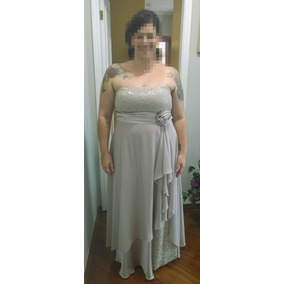 Vestido de festa longo tamanho 52