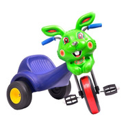 Triciclo Chopper Conejo Manubrio A Pedal Para Niño Oferta